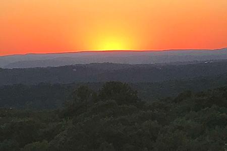 Turkey Mountain Sunset